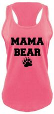 Mama Bear Cute Ladies Tank Top Mothers Day Gift Tank Mom Mommy Tank Top Z6