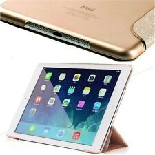 Magnetic Slim Auto Wake/sleep Silk Stand Smart Case Cover For Apple iPad 2 3 4