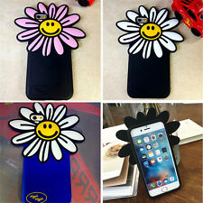 Cute Soft Silicone Sun Flower Cases Skins Covers for Iphone Apple 5S 6S 6S Plus