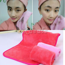 2016 New Reusable Microfiber Facial Cloth Towel Pads Makeup Remover Cleansing