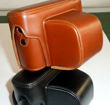 Leather Camera Case Bag Cover Protector For Fujifilm X-Pro1 xpro1
