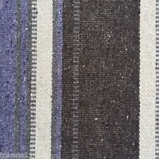 ROMO KIRKBY CHEVEYO/THISTLE  STRIPED WEAVE UPHOLSTERY FABRIC 4.125 YARDS