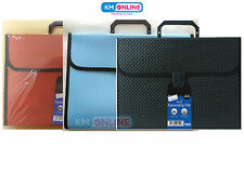 A4 Foolscap Expanding File 13 Pocket A-Z Filing Document Storage Folder Office