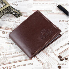 Wallet HOT money clip business credit card holder slim mens leather ID