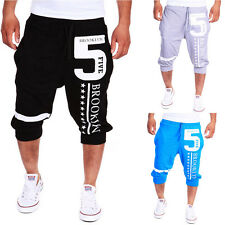 Fashion Summer Leisure Pants Men's Haroun Pants casual pants Cropped Trousers