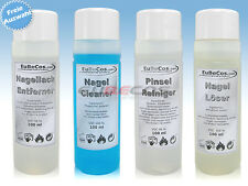 Cleaner, Nail polish - Remover, Nail solution or Brush Cleaner 100 ml Selection