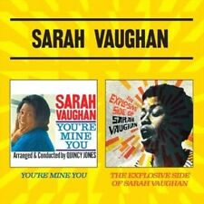 You're Mine You + the Explosive Side of Sarah Vaug - Vaughan,Sarah New & Sealed
