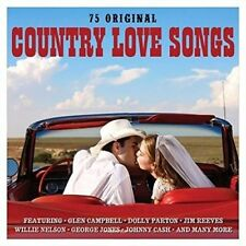 Country Love Songs - V/A New & Sealed CD-JEWEL CASE Free Shipping
