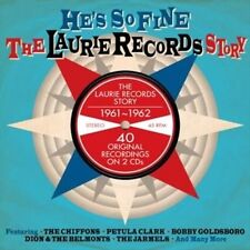 He's So Fine the Laurie Records Story - V/A New & Sealed Compact Disc Free Shipp