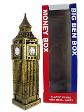 London Iconic Plastic Money Boxes - Big Ben, Bus, Telephone Box and Post Box