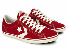 Converse Men Women Red Sneakers Great Basketball Shoes Sport Style All Sizes~
