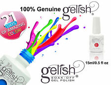 Gelish Gel Polish Soak Off UV LED Gelish® Harmony Nail Polish Lacquer 15ml