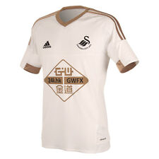 "Genuine Adidas SWANSEA CITY FC Men's Home Shirt 2015/16, Size: XL (46/48"")"