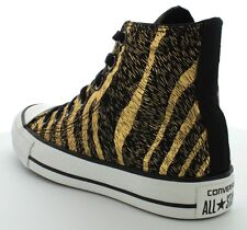 Converse All Star Sport Hi Women Trainers Boots Leopard Strip Shoes All Sizes~
