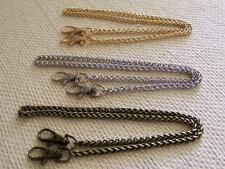 "24"" Chain Handle; Perfect For Miche Petite Bags; Antique Brass, Gold, or Silver"