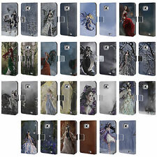 OFFICIAL NENE THOMAS FAIRIES LEATHER BOOK WALLET CASE COVER FOR SAMSUNG PHONES 2