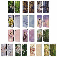 OFFICIAL SELINA FENECH FAIRIES LEATHER BOOK WALLET CASE FOR APPLE iPHONE PHONES