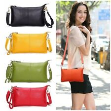 Women Genuine Leather Shoulder Bag Lady Evening Fashion Handbag Cowhide Purse