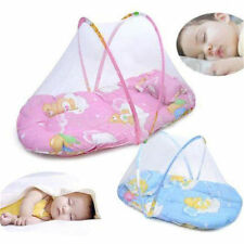 Infant Baby Mosquito Insect Net Tent Mattress Cradle Bed Canopy Cushion Summer