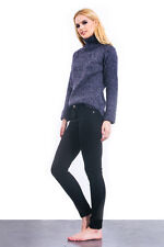 NEW Women's Winter Sweater Turtleneck Knitted Tunic Blouse Long Sleeve MISSKADIA