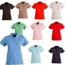 LADIES POLO TOP CASUAL WEAR RANGE OF COLOURS WORK SHIRT PS56