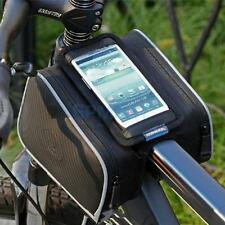 Cycling Bike Bicycle Tube Bar Mobile Phone Bag Pannier Case Holder Pouch Frame