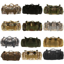 3P Military Tactical Waist Pack Outdoor Shoulder Molle Pouch Bag Camping Hiking