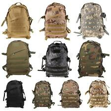 3D Military Tactical Backpack Rucksack Camping Hiking Trekking Outdoor Sport Bag