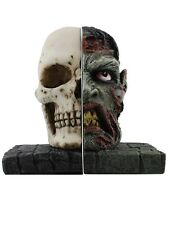 Zombie Skull Bookends Book End 14.5x14.5cm