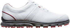 FootJoy DryJoys Casual Spikeless Golf Shoes White/Red 53503 Mens CLOSEOUT New