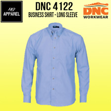 Polyester Cotton Chambray Business Shirt - Long Sleeve Work Wear 4122 dnc