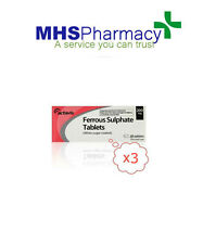 Ferrous Sulphate 200mg 3 pack of 28 - ACTAVIS BRAND Iron Tablets