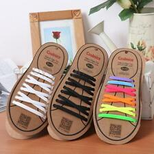 18pcs/Pair Silicone No Tie Elastic Shoelaces Sneakers No Lace Up Lace ADULTS