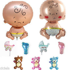 Unisex 1/5Pcs Baby Foil Shower Wedding Party Christening Party Decor Balloons