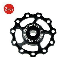 2PCS MTB Mountain Bicycle Bike Jockey Wheel SHIMANO SRAM Rear Derailleur Pulley