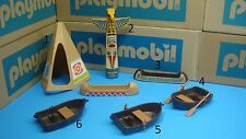 Playmobil pirates Indian Teepee pole canoe row boat paddles CHOOSE ONE toy 106