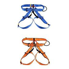 Safety Rock Climbing Fall Arrest Harness Sitting Bust Belt Equip Rescue Gear NEW