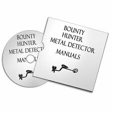 BOUNTY HUNTER METAL DETECTOR USER OWNER MANUALS METAL DETECTING FREE P+P