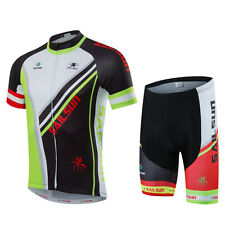 Bike Jersey Cycling Clothing Sets With Bib Men's Bicycle Breathable Shorts Set
