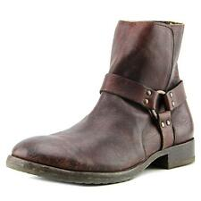 Frye Dean Harness Men  Round Toe Leather  Boot