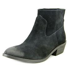 Dolce Vita Cassidy   Round Toe Suede Black Ankle Boot