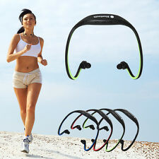 Wireless Bluetooth Stereo Sport Headphone Headset for iPhone for Samsung