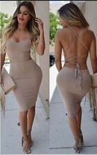 Bandage Cocktail Party Club Wear Details Evening Bodycon Night Dress Women Sexy