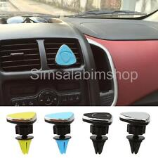 Rotate 360 Magnetic Car Auto Air Vent Mount Clip Mobile Phone Holder GPS Tablet