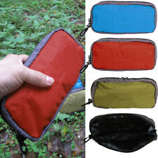 Waterproof Travel Camping Toiletry Hanging Wash Cosmetic Storage Zip Bag Pouch