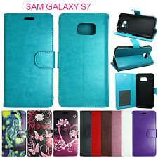 For Samsung G891 Galaxy S7 Active Flip Wallet Leather Cover Case Pouch Folio