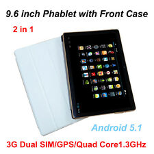 9.6 inch 3G Phablet WCDMA Android Quad Core 1GB+16GB Dual Cam IPS GPS Tablet PC