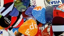 Guitar Picks Lot of 100 Recycled Upcycled HUGE Random Lot of 100 Fr*e Ship
