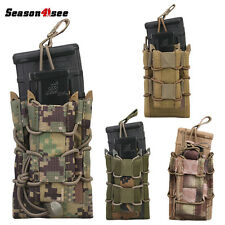 7 Colors Airsoft Tactical Magazine Pouch Bag Modular Rifle Pistol Case Outdoor