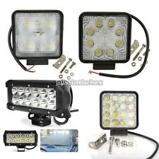 1 Pcs FLOOD BEAM LED WORK OFFROAD LIGHT LAMP TRUCK UTE BOAT 12V 24V 4WD 4x4 N98B